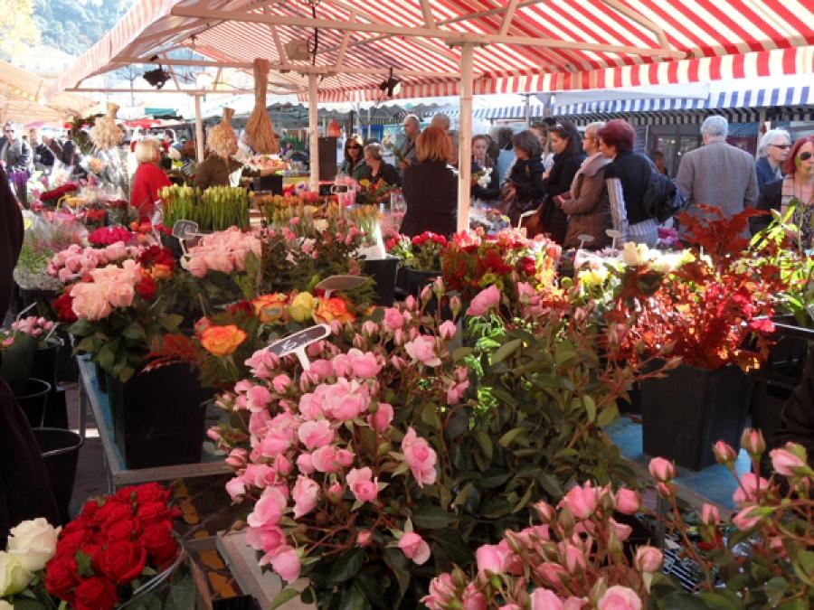 Vieux Nice - Marché aux Fleurs