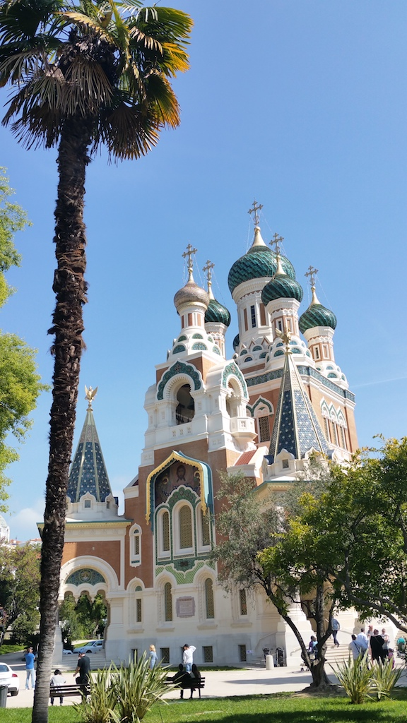 Die Russen in Nizza